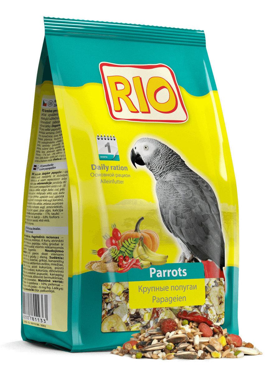 "Корм ""RIO"" для крупных попугаев, 1000 г"