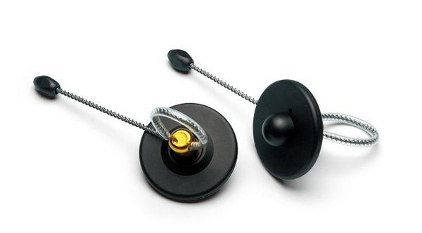 Противокражный датчик Lucatron «Бутылочный» с тросом 180мм радиочастотный