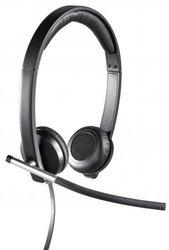 Гарнитура Logitech Headset H650e Stereo USB 981-000519 - фото 1