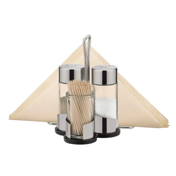 Набор ёмкостей для соли, перца, зубочисток и салфеток Tescoma Club 650332.00