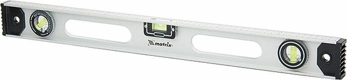 """Уровень Matrix """"Рельс"""", 2 глазка + 1 поворотный, 1000 мм"""