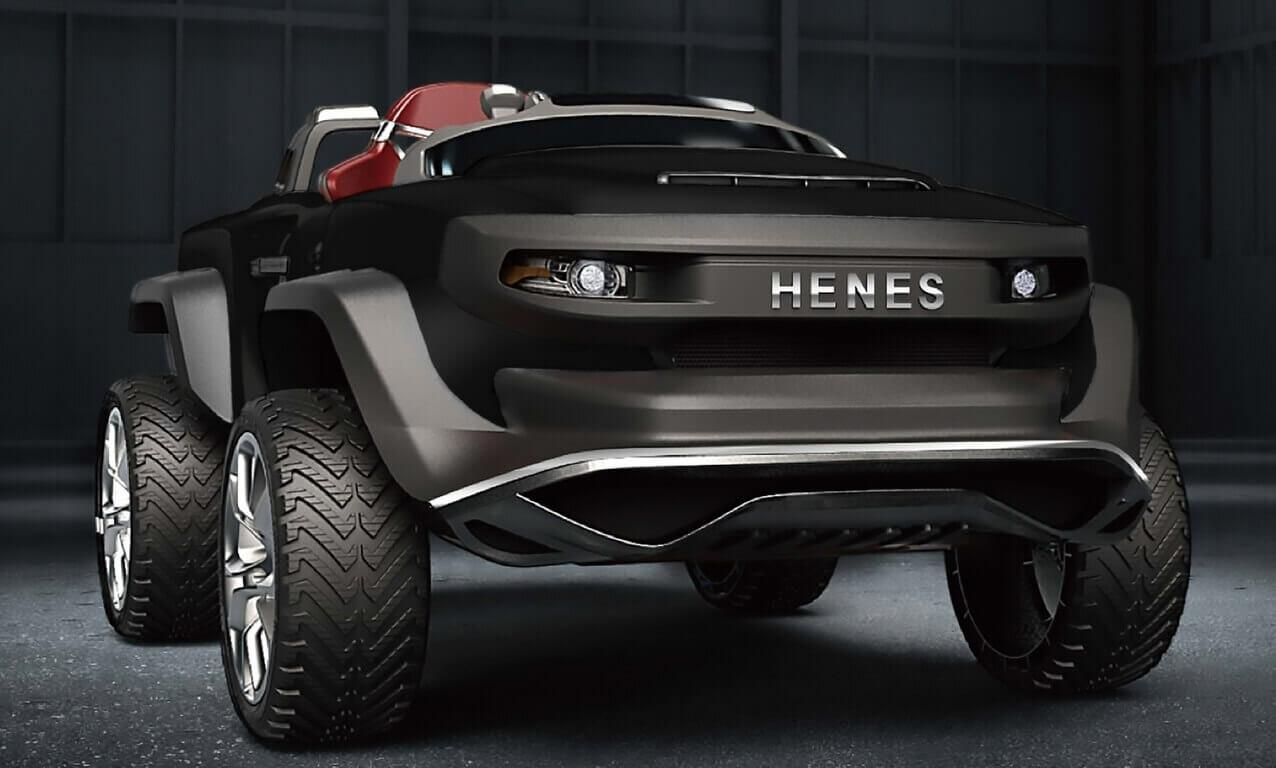 Автомобиль Henes