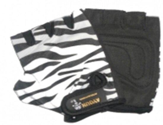 Перчатки т.а. специальные полиэстер+лайкра расцветкa зебра 922