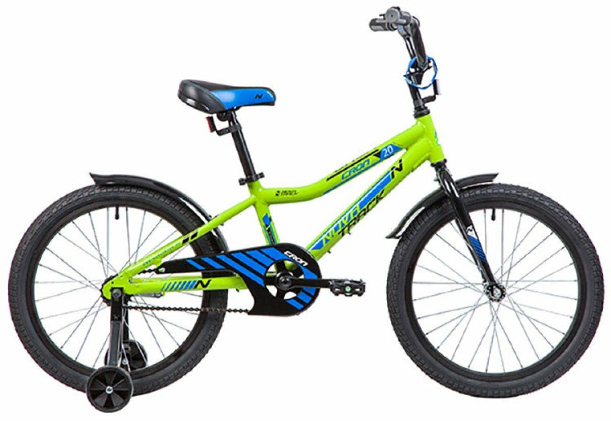 """Велосипед NOVATRACK Cron 20"""" (2019)(зеленый)"""