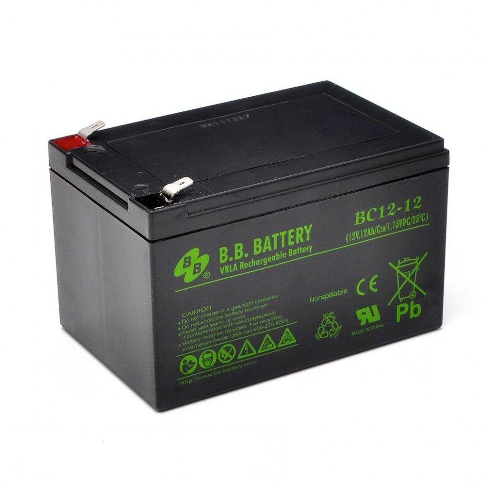 Аккумулятор для ИБП B.B.Battery BC 12-12