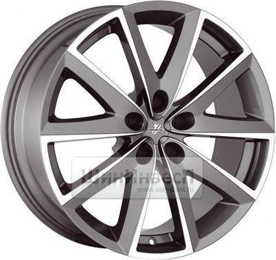 Колесные диски Fondmetal 7600 7.5x17 5*108 ET45 d67.2 Titanium Polished