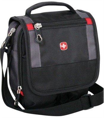 Мужские сумки Wenger Сумка-планшет WENGER, черный/серый, 15х5х22 см [1092239]