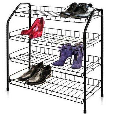 Этажерка для обуви разборная, 4 полки, 660x280x700 мм
