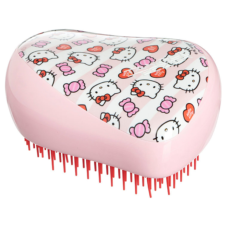 TANGLE TEEZER Расческа для волос / Compact Styler Hello Kitty Candy Stripes