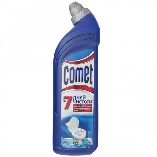 Чистящее средство COMET для туалета Океан 750мл