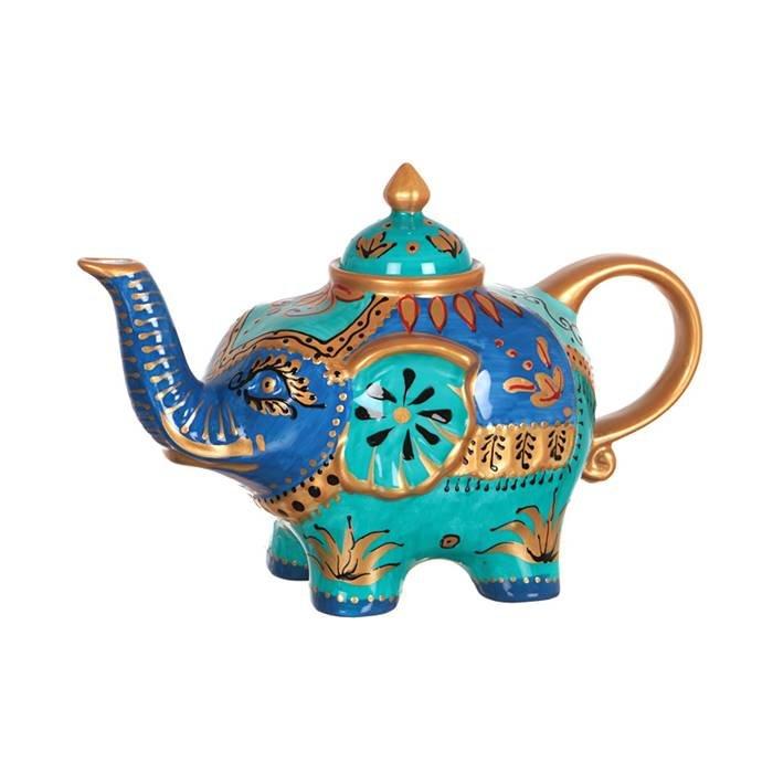 "LEFARD п-да/чай 151-033 чайник ""слон""800 мл. (кор=16шт.) фарфор"