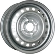 Колесные Диски TREBL 6355T 5.5x14/4x108 ET37.5 D63.3 Silver - фото 1