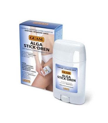 """Антицеллюлитный стик для тела с дренажным эффектом """"Alga Stick Dren"""", 75 гр., Guam"""