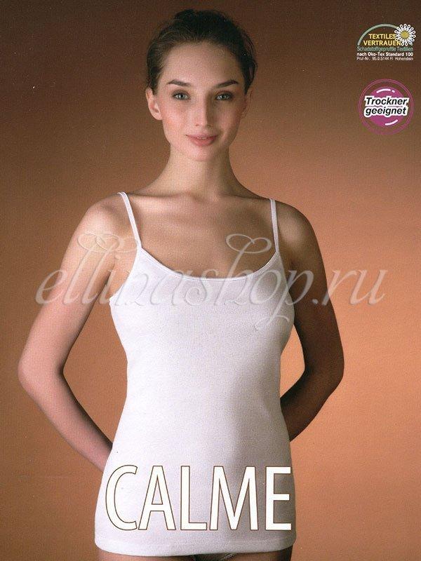 807100 Майка женская Calme Cote cotton (черный), 48