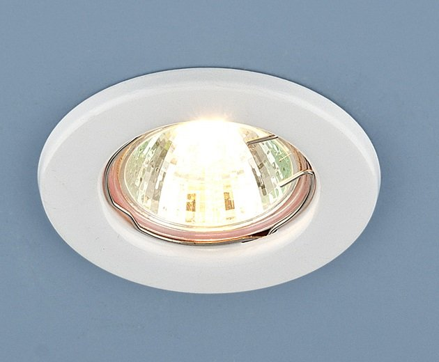 Светильник точечный Elektrostandard 9210 MR16 WH белый Штамповка a030075