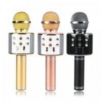 Беспроводной микрофон для караоке WS-858 (Черный)