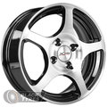 Диск колесный X-trike X-103 5.5x14/4x108 D65.1 ET20 BK/FP - фото 1