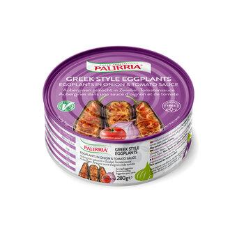Овощная консервация Баклажаны фаршированые в томатном соусе