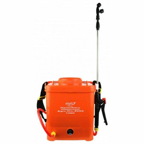 Электрический аккумуляторный опрыскиватель «Умница ОЭ-8л-Мини» (Комфорт)