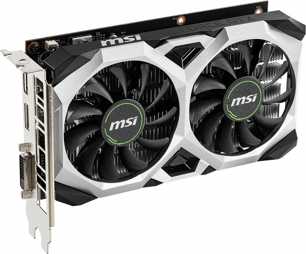 Видеокарта MSI NVIDIA GeForce GTX 1650 4096 Мб (GTX 1650 VENTUS XS 4G OC)