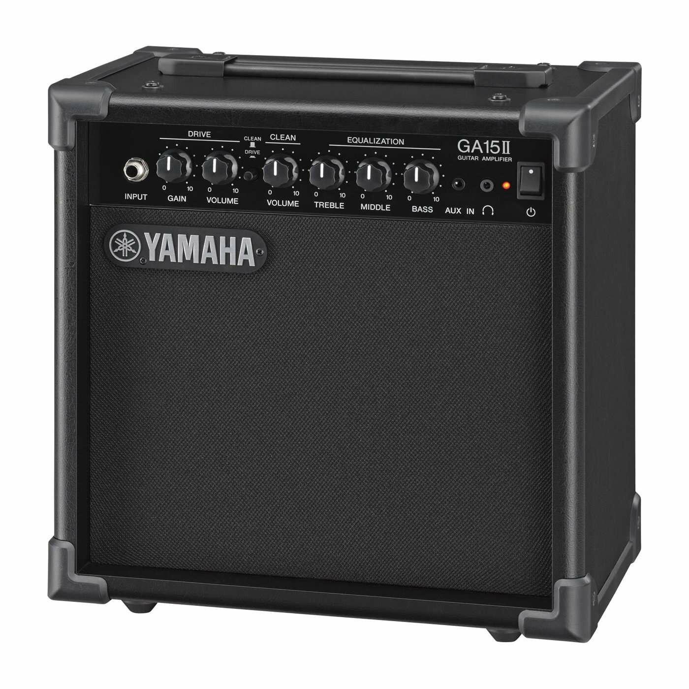 """Yamaha GA15 - гитарный комбо, 15 Вт, 1x6,5"""", 3-пол. экв., вход AUX, выход для наушников"""
