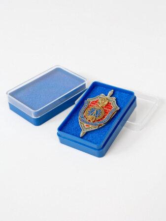 Коробочки для значков 38х58х15 мм (Светло синий, 25 шт.)