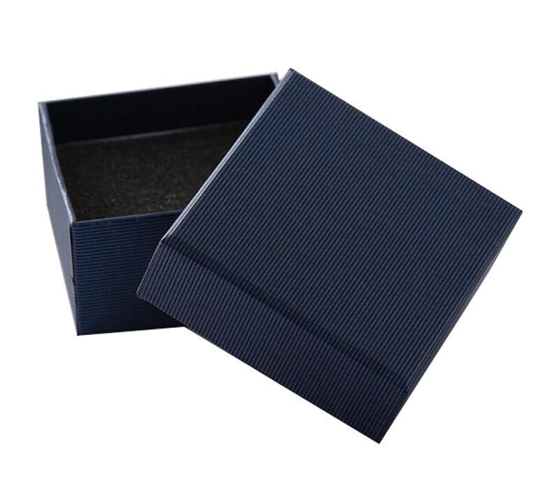 Коробочка для часов с подушечкой 5*8,5*8 см Dark blue
