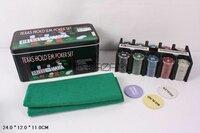 Игровые столы, настольные игры. 0893 Покерный набор 200 фишек с номиналом