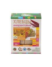 Хлебцы амарантовые DI&DI Di&Diс топинамбуром, без глютена, изготовленные методом экструзии, 195г.