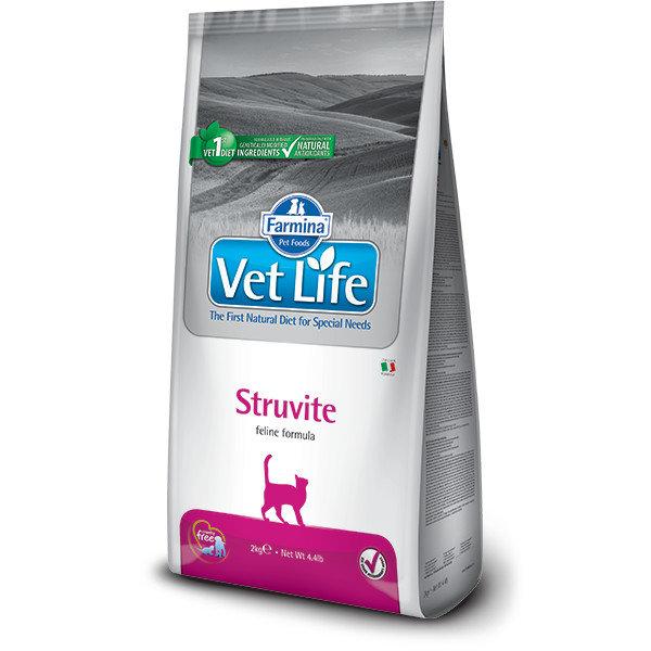 Корм для кошек Farmina Vet Life Cat Struvite, 2 кг