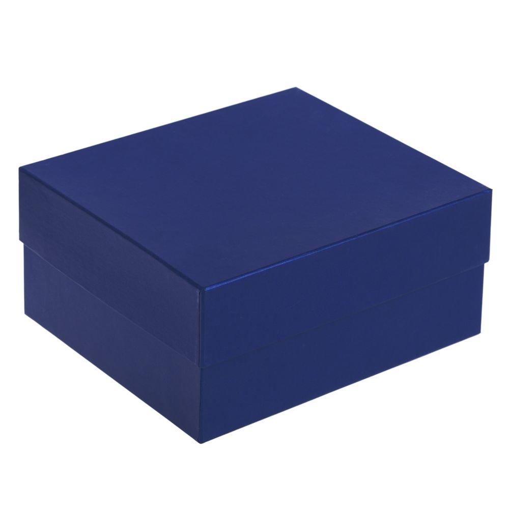 Коробка Satin, большая, синяя (23х20,7х10,3)