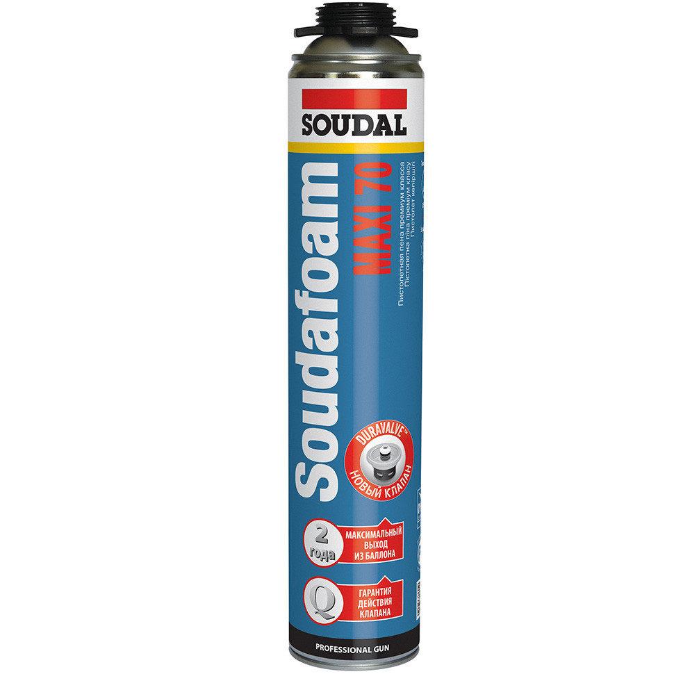 SOUDAL Soudafoam Maxi 70 - Монтажная пистолетная пена (870 мл)