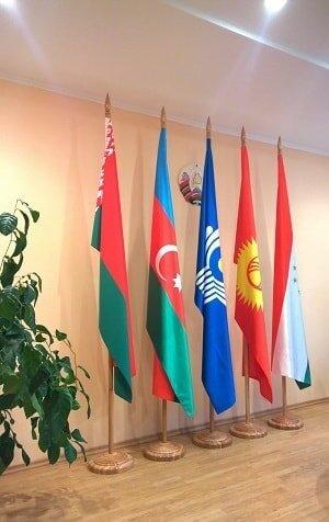 Флаг, габардин сшивной под заказ (100х200 см)