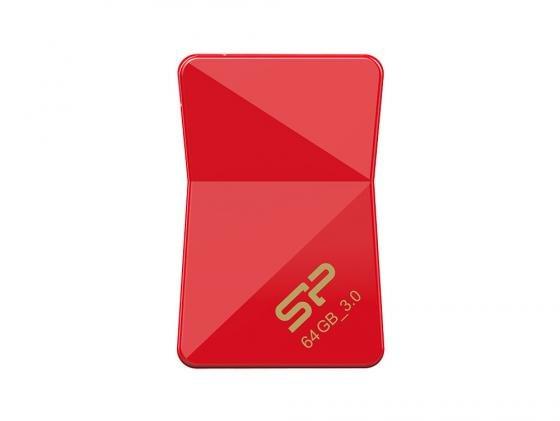 Флешка USB 64Gb Silicon Power Jewel J08 SP064GBUF3J08V1K красный