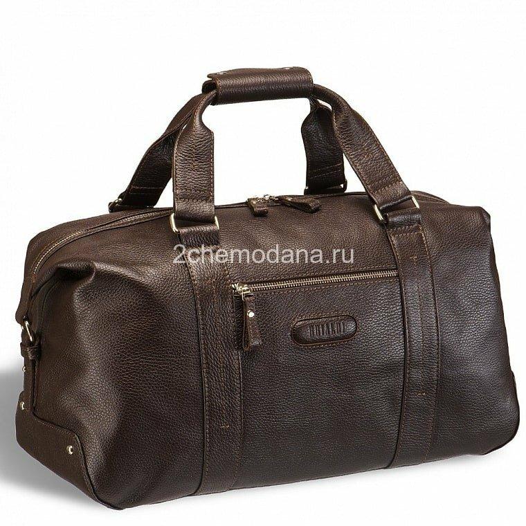 Кожаная дорожно-спортивная сумка BRIALDI Newcastle BR11877NO relief brown