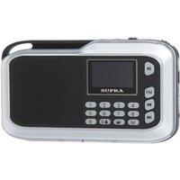 Портативная акустика Supra PAS-3909 серебро