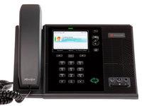 CX600 Polycom IP телефон 1 линия Lync, 2 x GE PoE, цветной LCD 320 x 240, 1 x USB