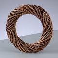 Венок из ивовых прутьев неочищенных, 10 см