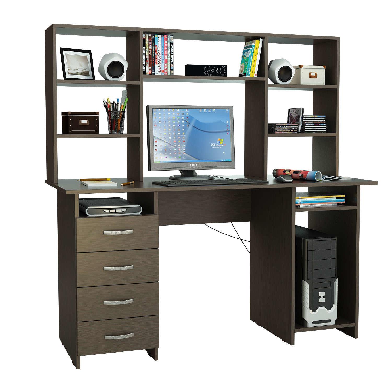 Стол компютерный милан 7Я с надставкой купить, цена 11 790.0.