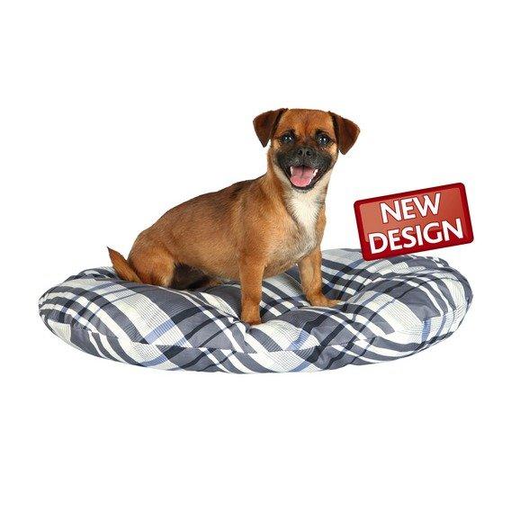 Лежак Trixie Jerry для кошек и собак (60 х 40 х 8 см, Серый, белый)