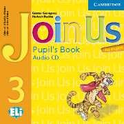 "Gunter Gerngross and Herbert Puchta ""Join Us for English 3 Pupil's Book Audio CD (Лицензия)"""