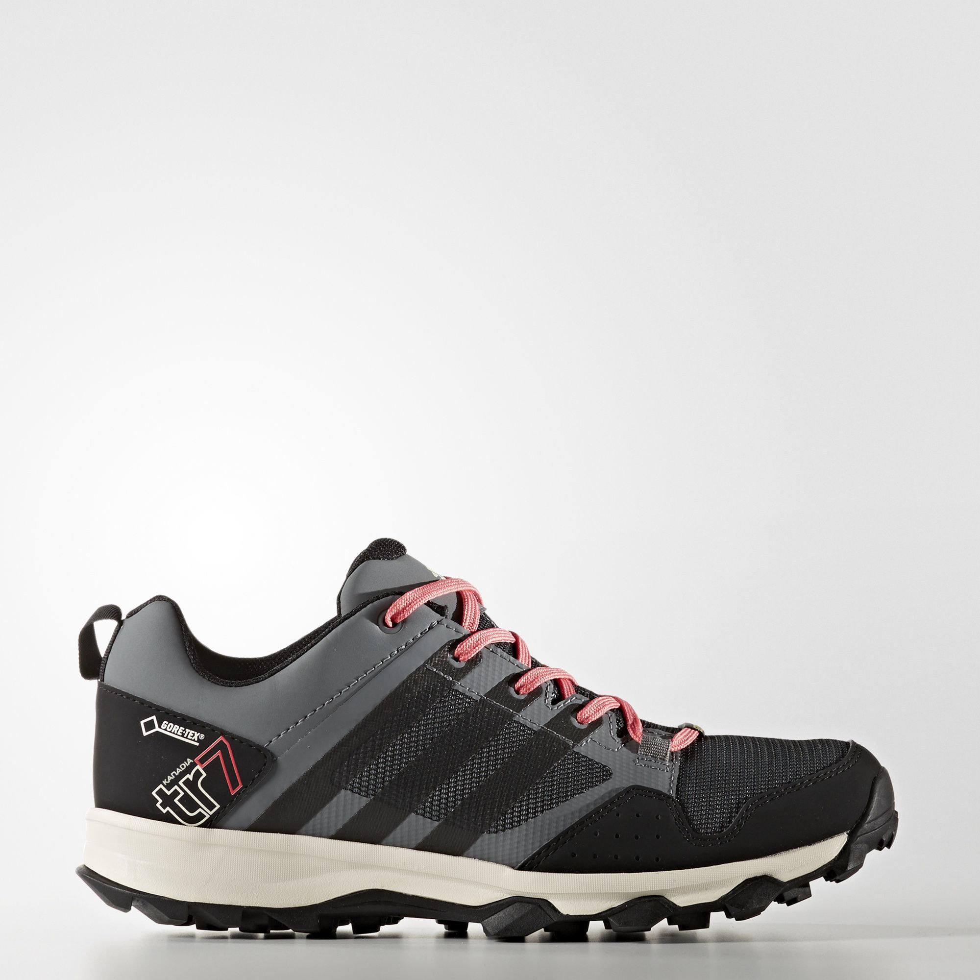 Обувь для трейлраннинга Kanadia 7 Trail GTX adidas TERREX Vista Grey S15 / Core Black / Super Blush S16