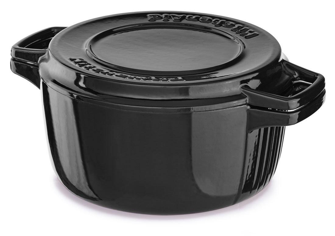 Кастрюля чугунная KitchenAid Cast Iron Cookware 4.0Qt 3.77 л