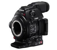 Видеокамера со сменной оптикой CANON EOS C100 Mark II, Full HD