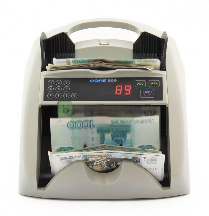 Счетчик банкнот DORS 600
