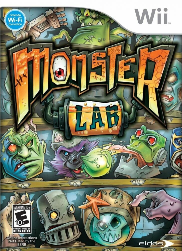 Игра для Nintendo Wii и WiiU Monster Lab