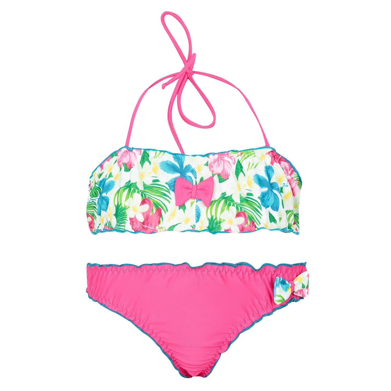 Купальник раздельный лиф/плавки Cornette цвет: розовый, для малышей, размер 86-92