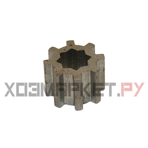 Z572.03 Шестеренка металлическая зубчатая для мясорубки Белвар КЭМ-36/220-4