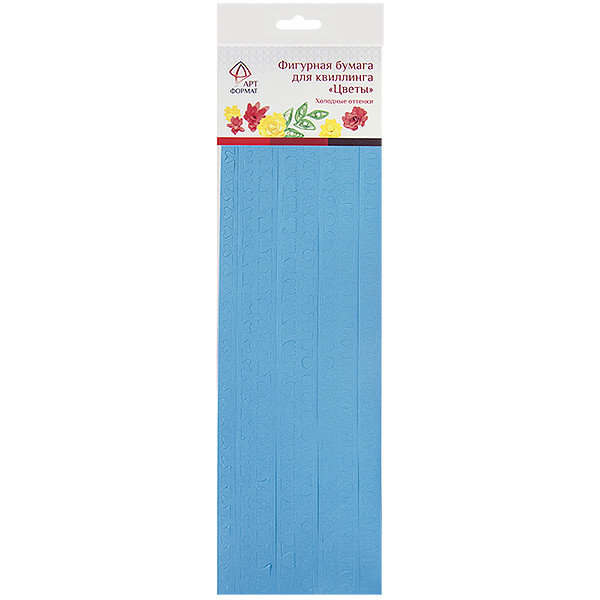 Бумажные полоски АРТформат Цветы