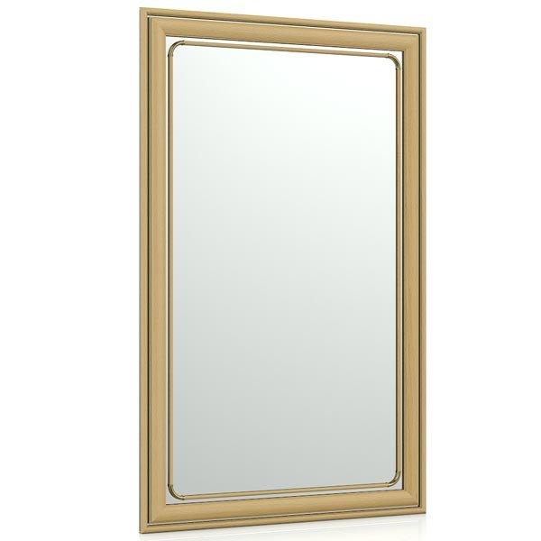 Зеркало для прихожих и комнат 121 50х80 см. рама орех